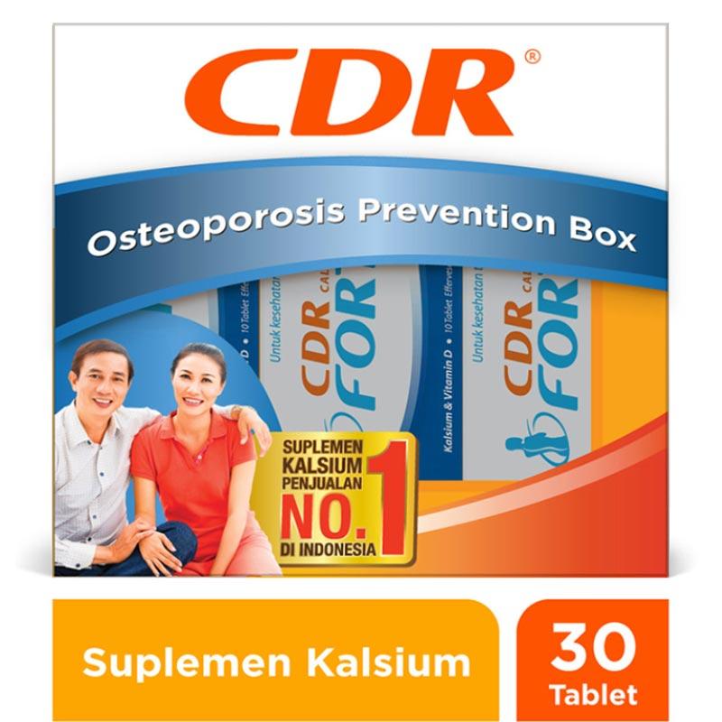CDR Rasa Jeruk Suplemen Kesehatan Family Pack 10 Tablet 2 Pcs