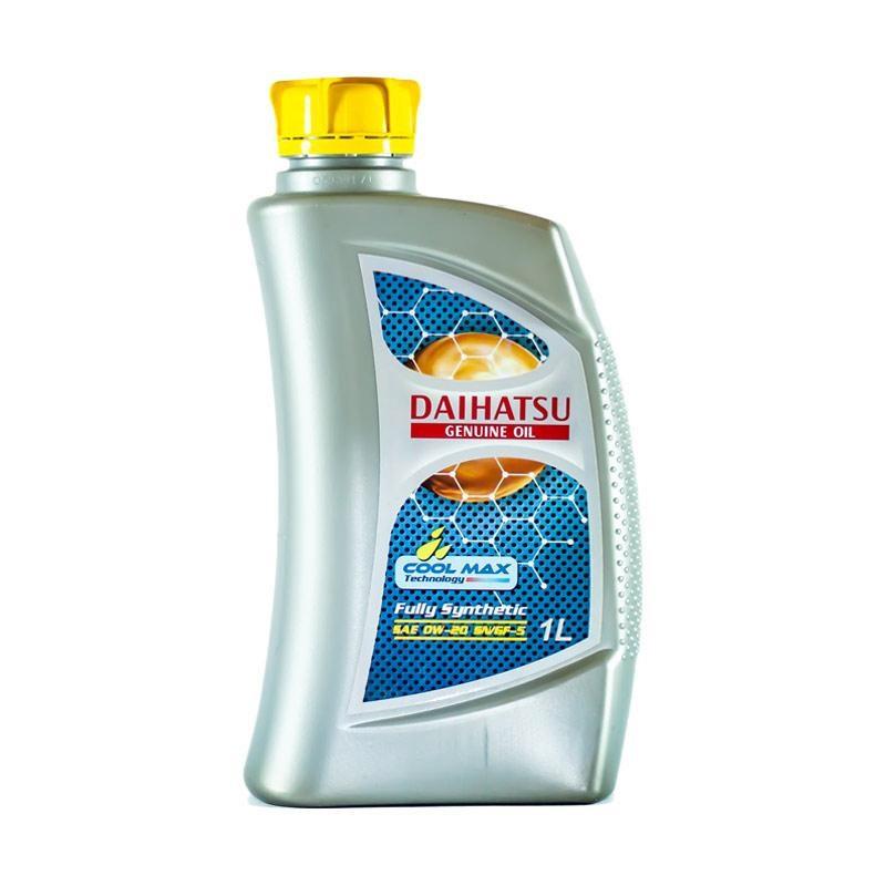 Daihatsu Genuine 0W 20 API SN GF 5 Fully Synthetic Oil Pelumas for Mobil