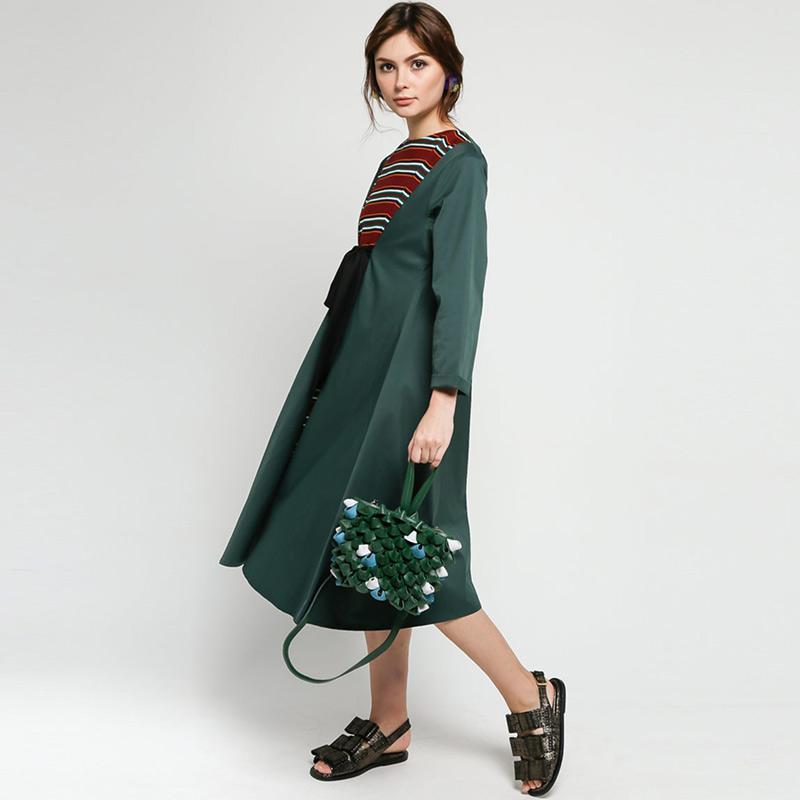 S rw 012 Pineball Wrist Sling Bags Wanita Green Gray Brand S rw Official 1 ulasan produk Stok Tersedia