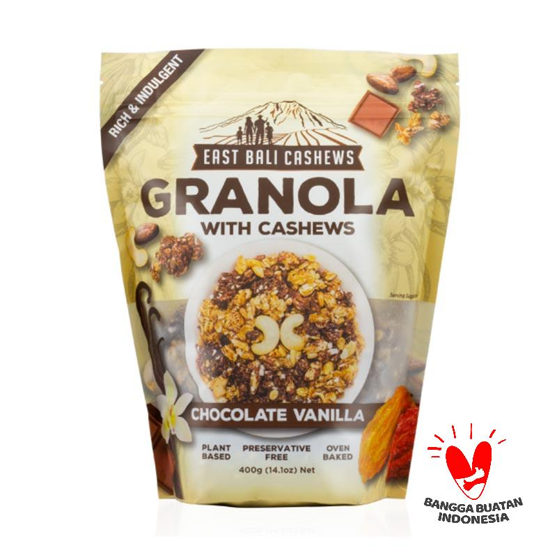 East Bali Cashews Chocolate Vanilla Granola [400 g]