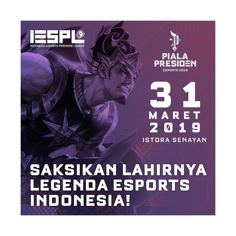 IESPL Piala Presiden E Tiket 31 Maret 2019