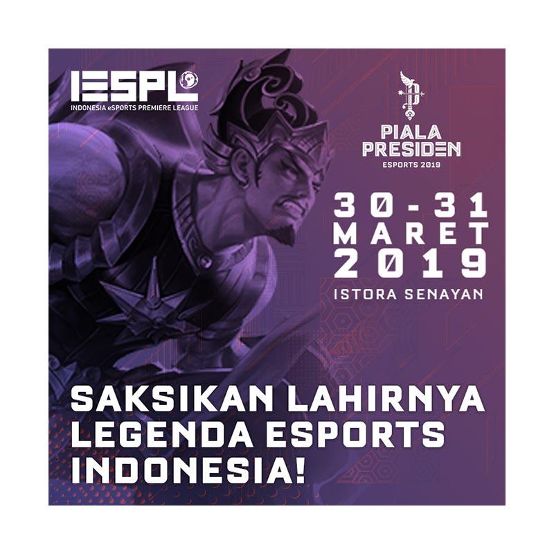 IESPL Piala Presiden E Tiket 2 Day Pass 30 31 Maret 2019
