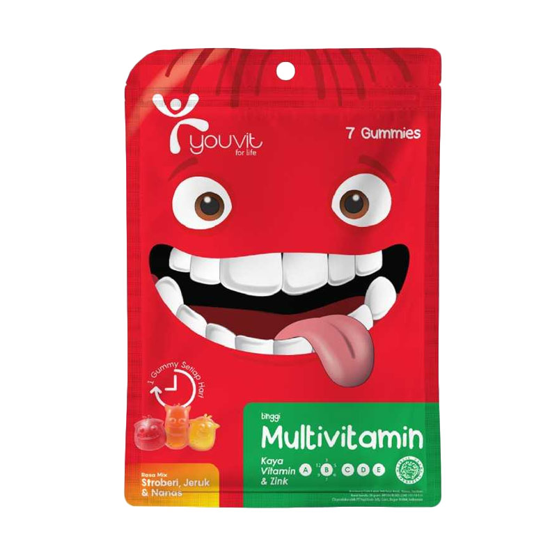 Youvit Multivitamin Gummy Multivitamin Anak