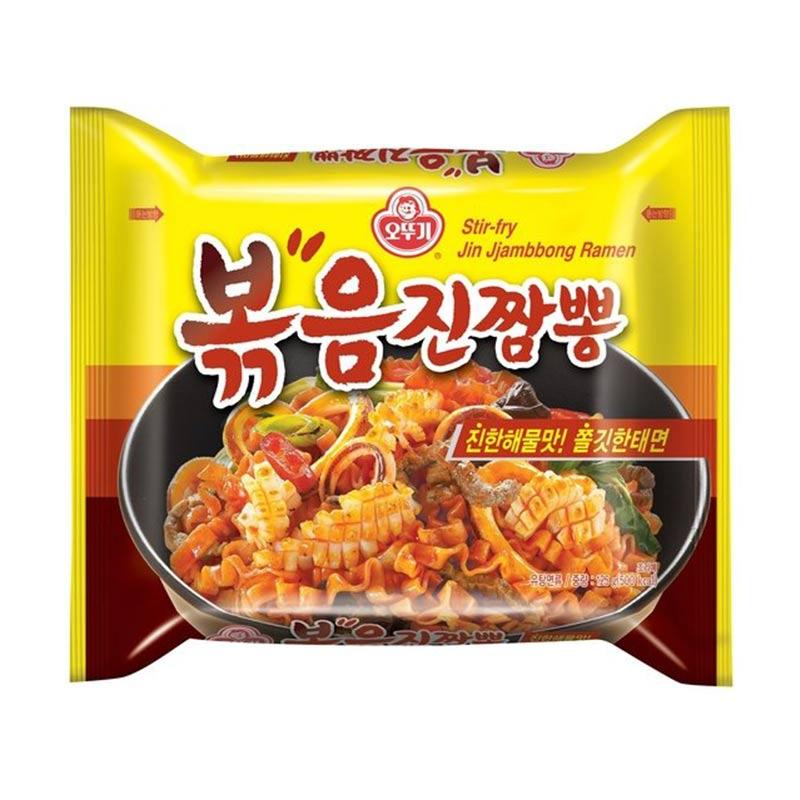Ottogi Stir Fry Jin Jjambbong Ramen 125 g