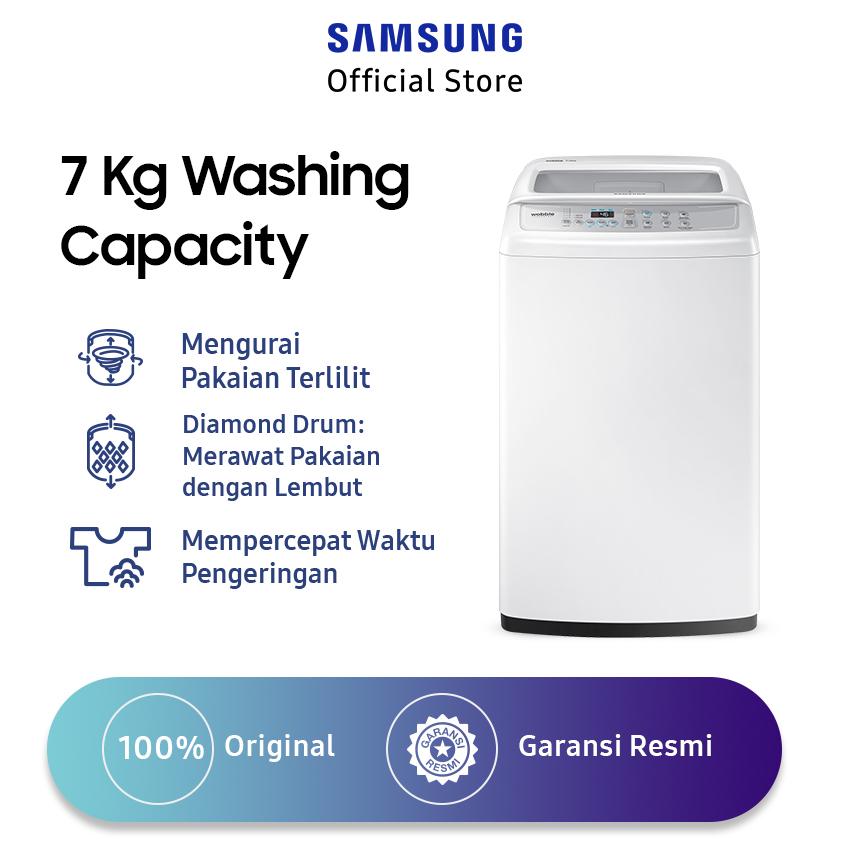 Samsung WA70H4200SW SE Top Loading Mesin Cuci 7 Kg