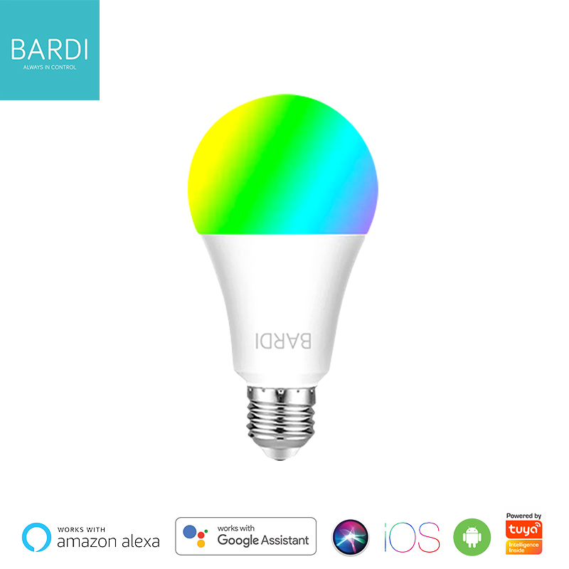 Bardi Indonesia RGBWW IoT Smart Wireless Light Bulb for Home