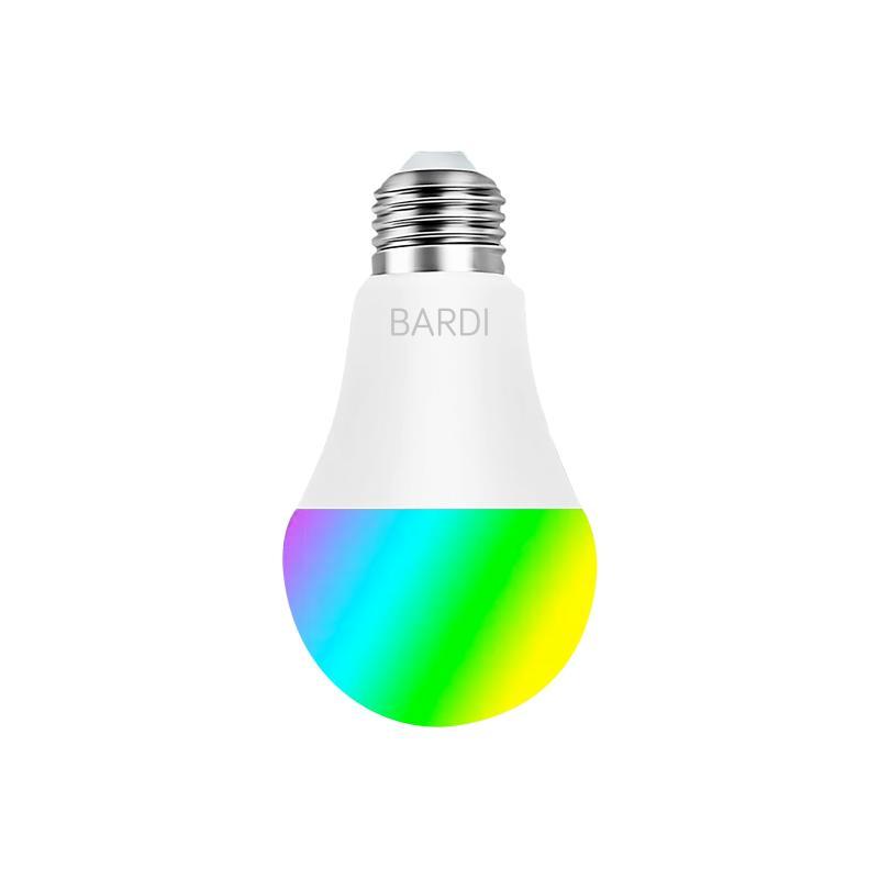 Bardi Indonesia RGBWW IoT Smart Wireless Light Bulb for Home Automation 9 W