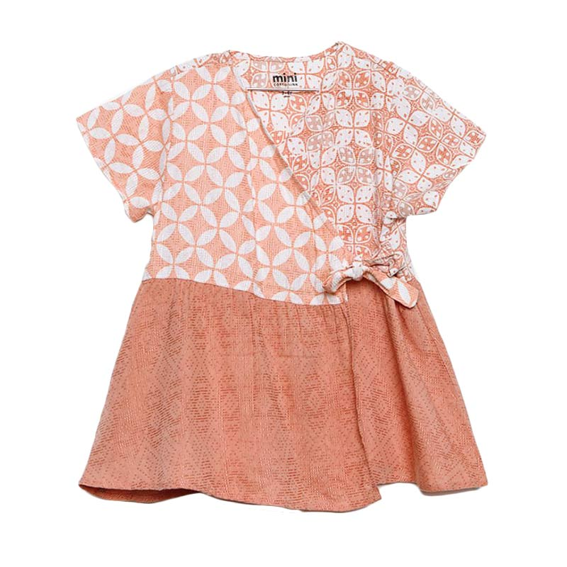 Cottonink Mini Batik Ghyta Pakaian Anak Pink