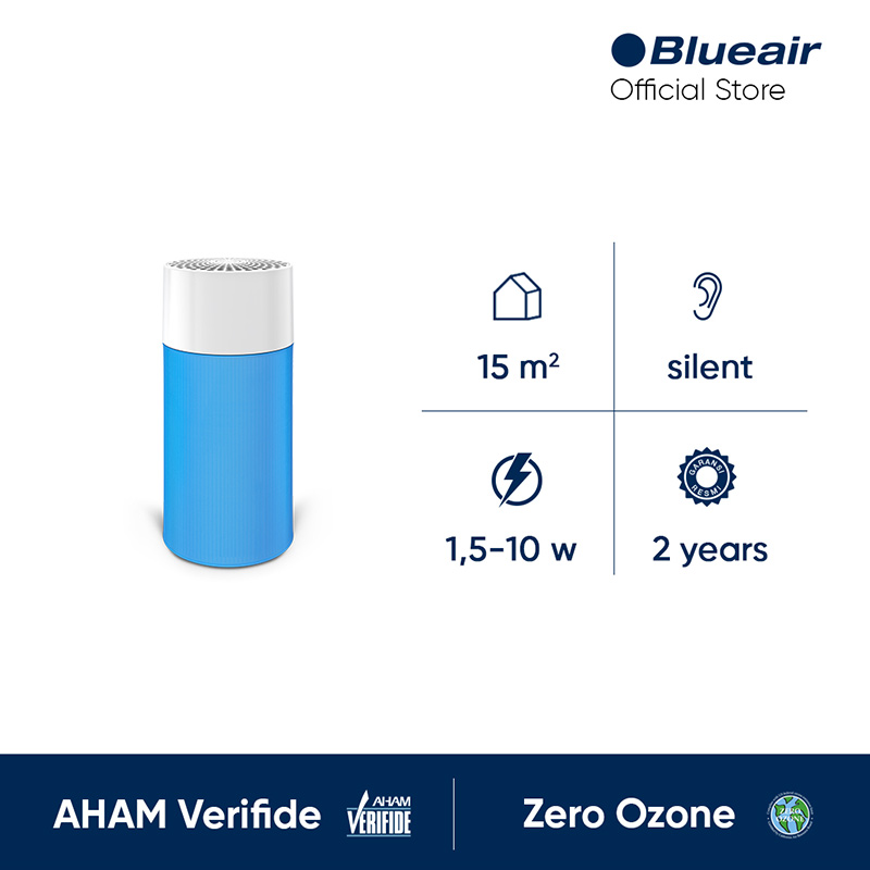 Blueair Blue Pure 411 Particle and Carbon Air Purifier Pembersih Udara