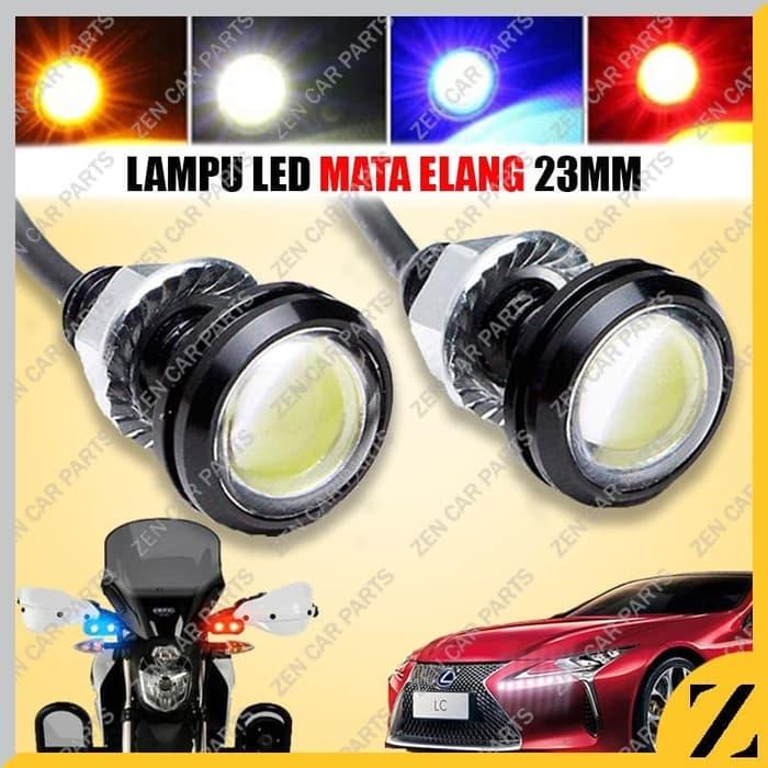 Jual Lampu Led Eagle Eyes Mata Elang 12v 23mm Bumper Sein Rem Mobil Motor Terbaru Juli 2021 Blibli