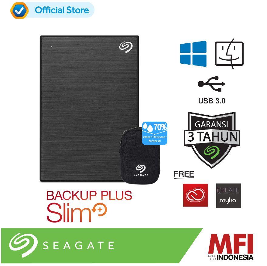 Seagate New Backup Plus Slim 2TB Hardisk