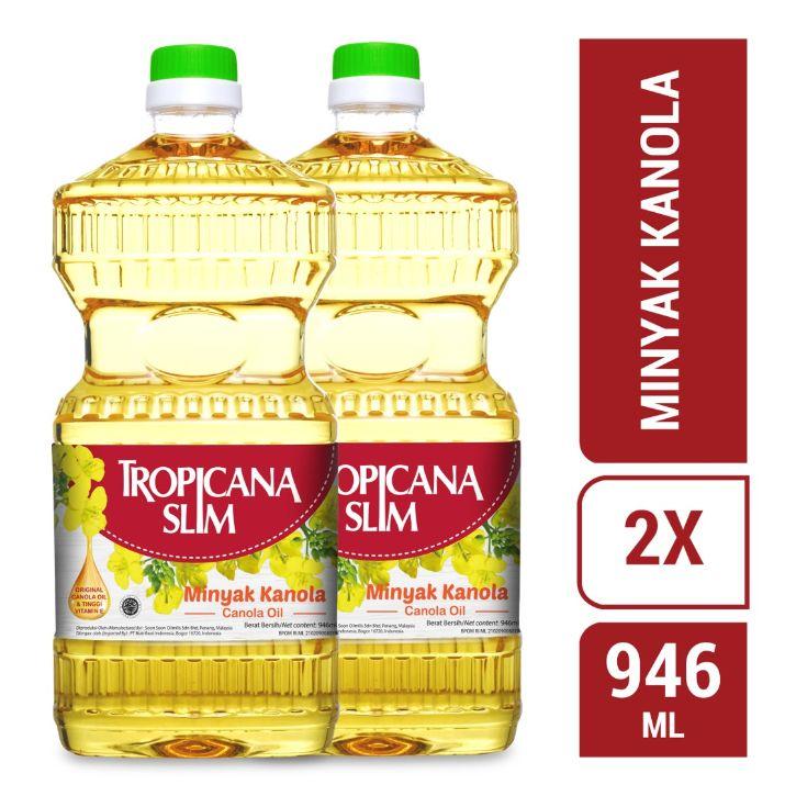 Tropicana Slim Minyak Kanola 946 mL 2 pcs