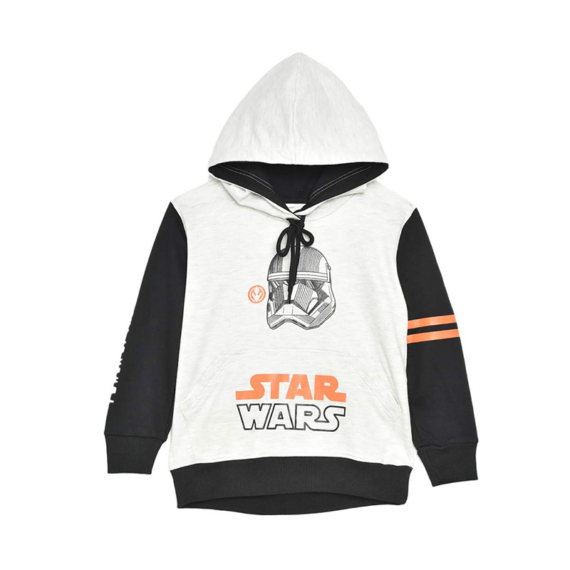 Pre Order Star Wars Kids Power of The Dark Side Trooper Jaket Hoodie Anak Black Orange