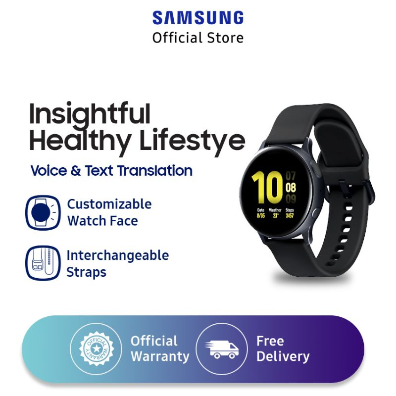 Samsung Galaxy Watch Active 2 Aluminium Smartwatch 40 mm