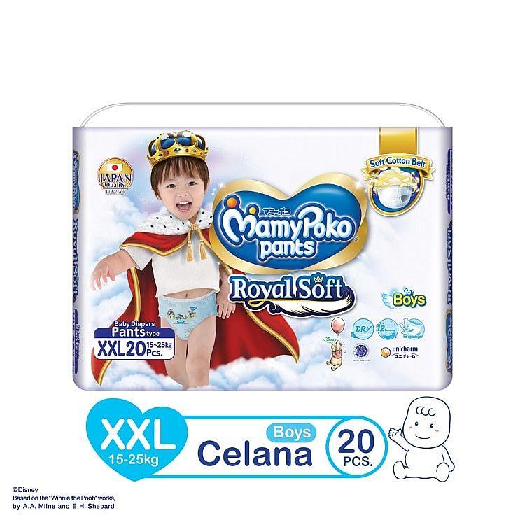 MamyPoko Pants Boy Royal Soft Popok