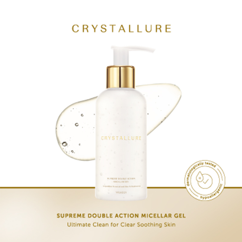Crystallure Supreme Double Action Micellar Gel 150 mL
