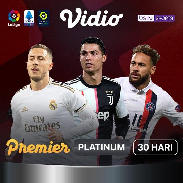 vidio com Premier Platinum Voucher 30 Hari