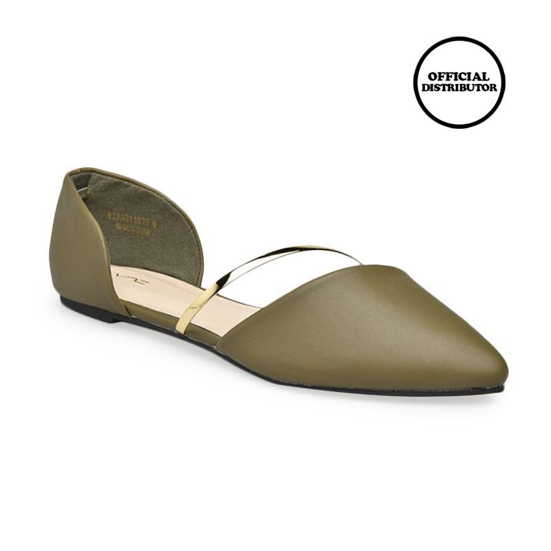 VNC 211570 Amaryllis Sepatu Wanita Green