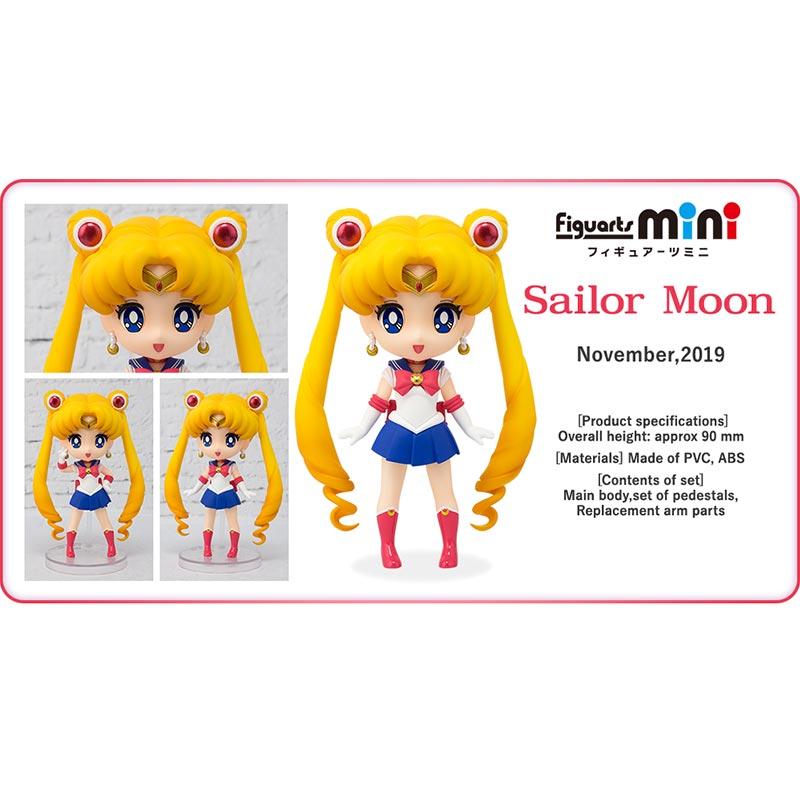 Jual Bandai Figuarts Mini 001 Sailor Moon 55180 Action Figure Online Oktober 2020 Blibli Com