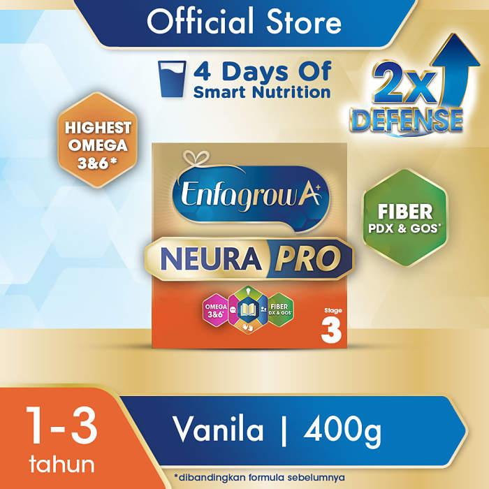 Enfagrow A+ 3 Vanilla Susu Formula [400 g]