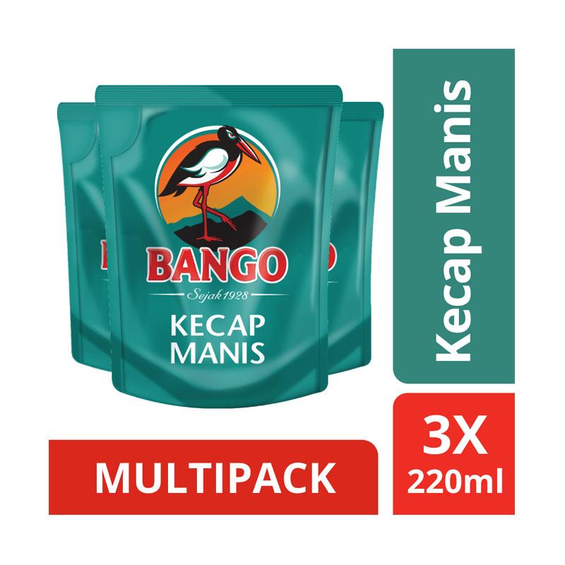 BANGO Kecap Manis 3 pcs x 220 mL Flatpack