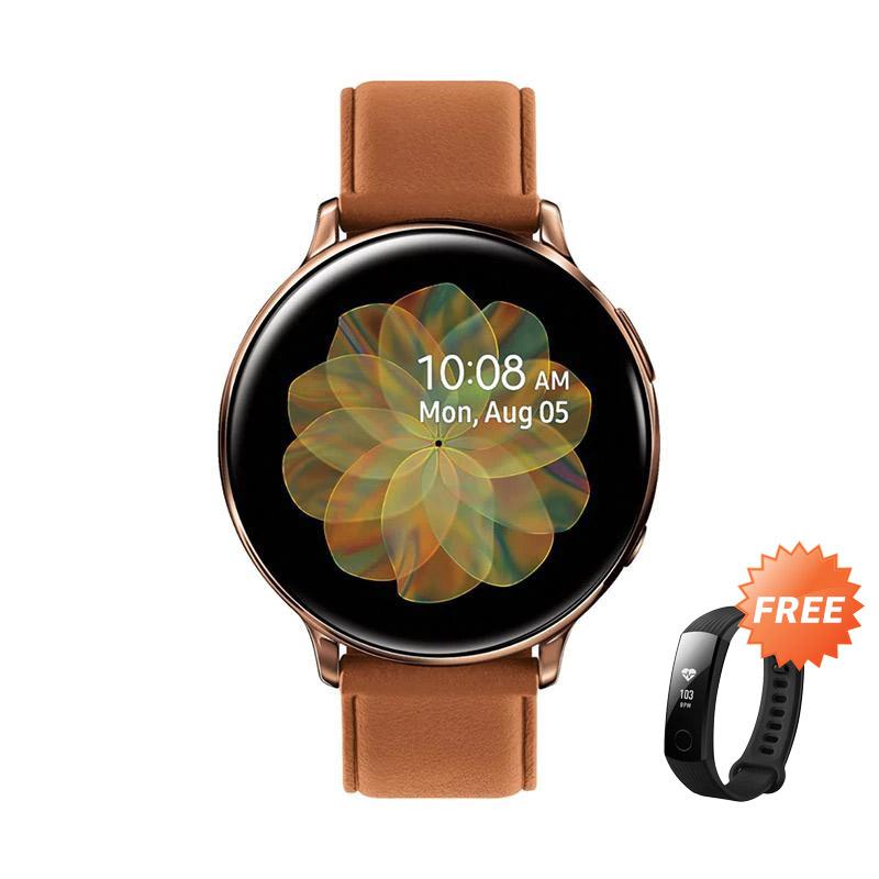 Samsung Galaxy Watch Active 2 Steel Smartwatch [44 mm] + Tracker Band