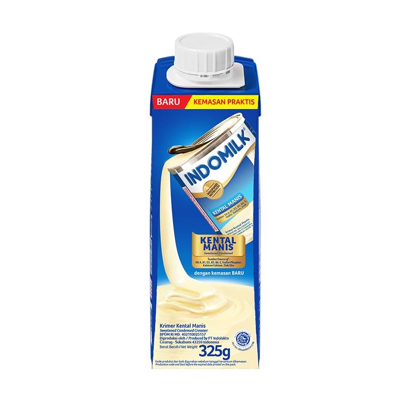 Indomilk Tetra Pak Krimer Kental Manis 325g