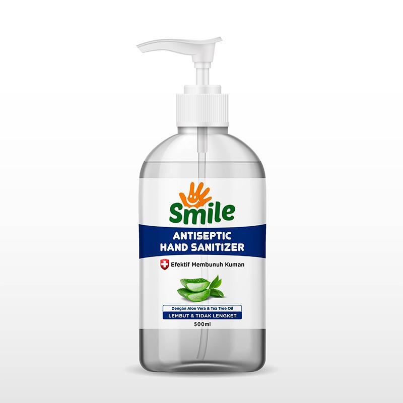 Hand Sanitizer Smile