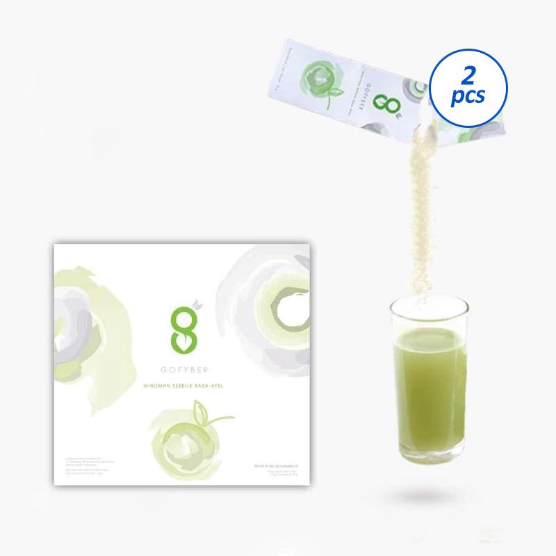 GoFyber Healthy Drink 2 Box 15 Sachet