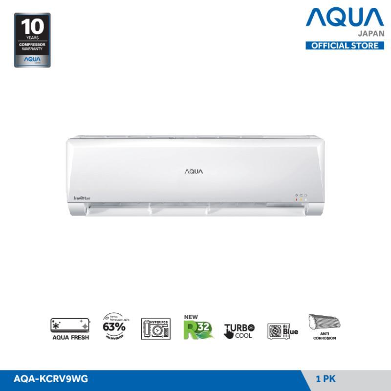 Bagikan facebook facebook mail Stok Terbatas 5 tag label Blibli Histeria 12 12 2020 s d 13 Des 2020 Aqua Japan AQA KCRV9WG Inverter AC Split