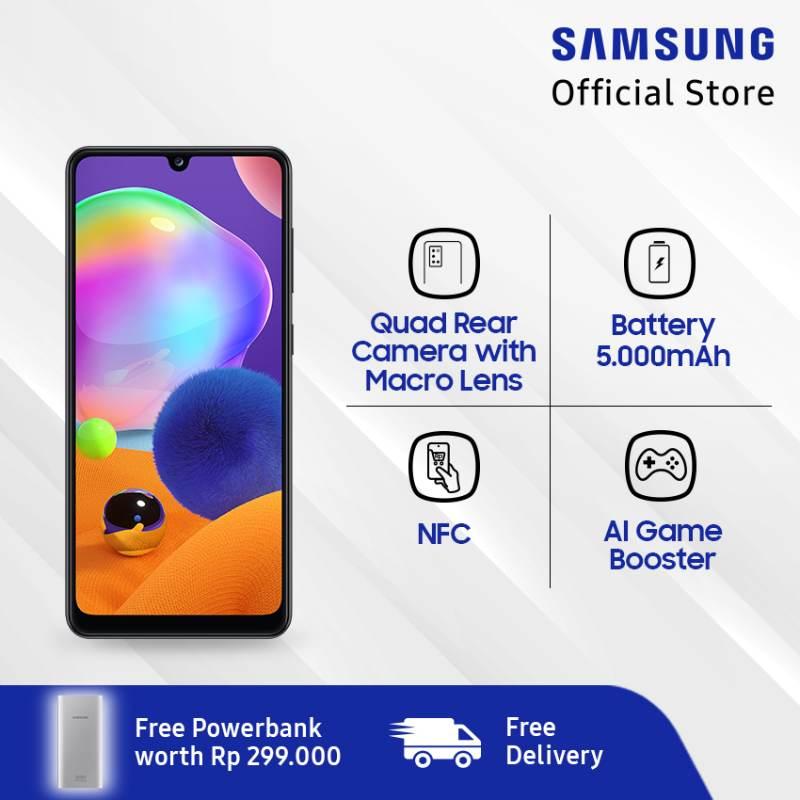 Samsung Galaxy A31 Smartphone 128 GB 6 GB Powerbank 10 000 mAh