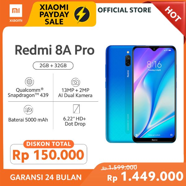 Xiaomi Redmi 8A Pro Midnight Grey 32 GB