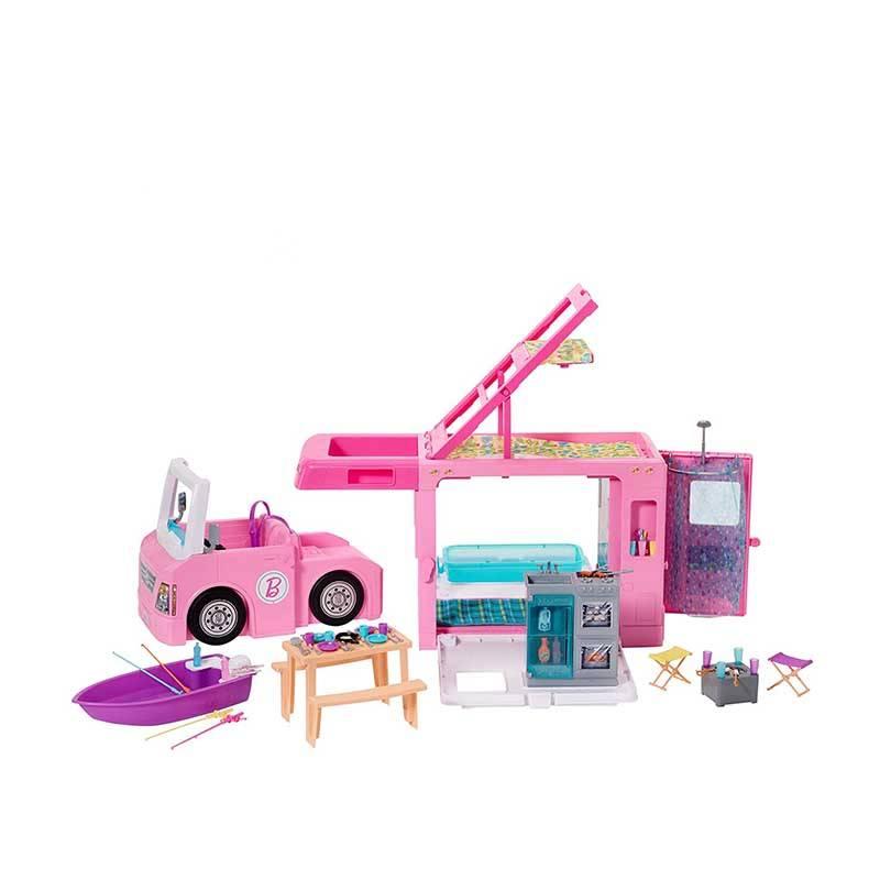 Jual Barbie 3 In 1 Dreamcamper Vehicle Ghl93 Online Oktober 2020 Blibli Com