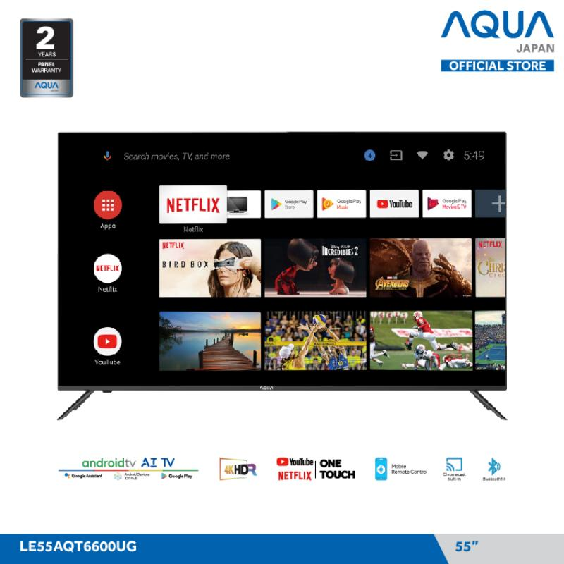 Aqua Japan LE55AQT6600UG Smart LED TV 55 Inch