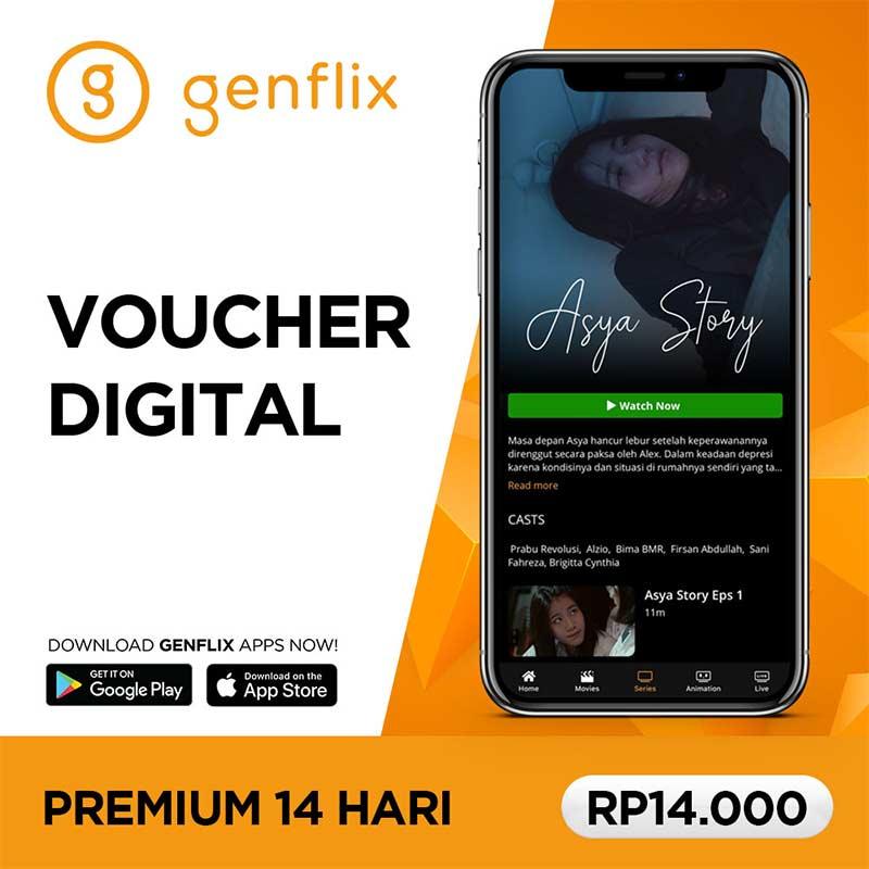 Genflix Paket Premium 2 Minggu
