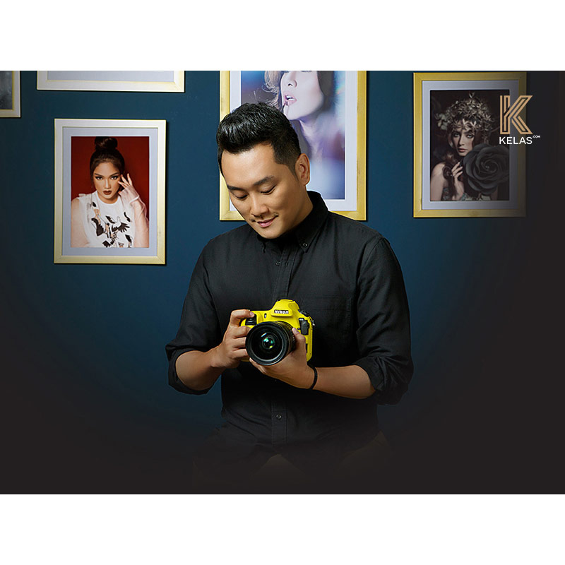KELAS COM Riomotret Mengajarkan Beauty Portrait Photography Ticket Digital Media