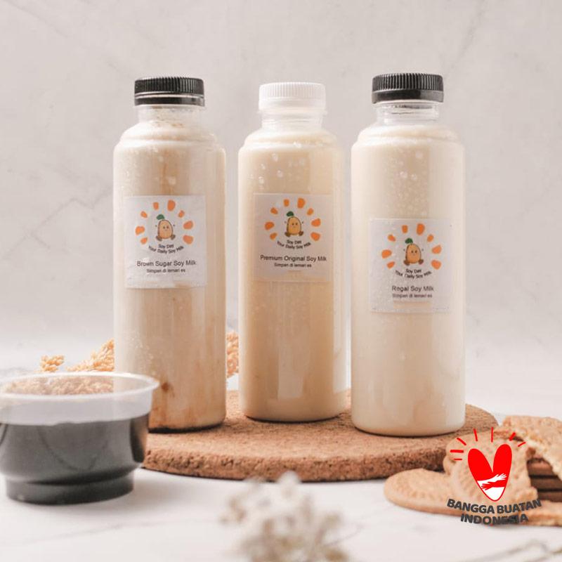 Soy Day Soy Milk Package Susu Kacang Kedelai Paket 3 pcs 250 mL