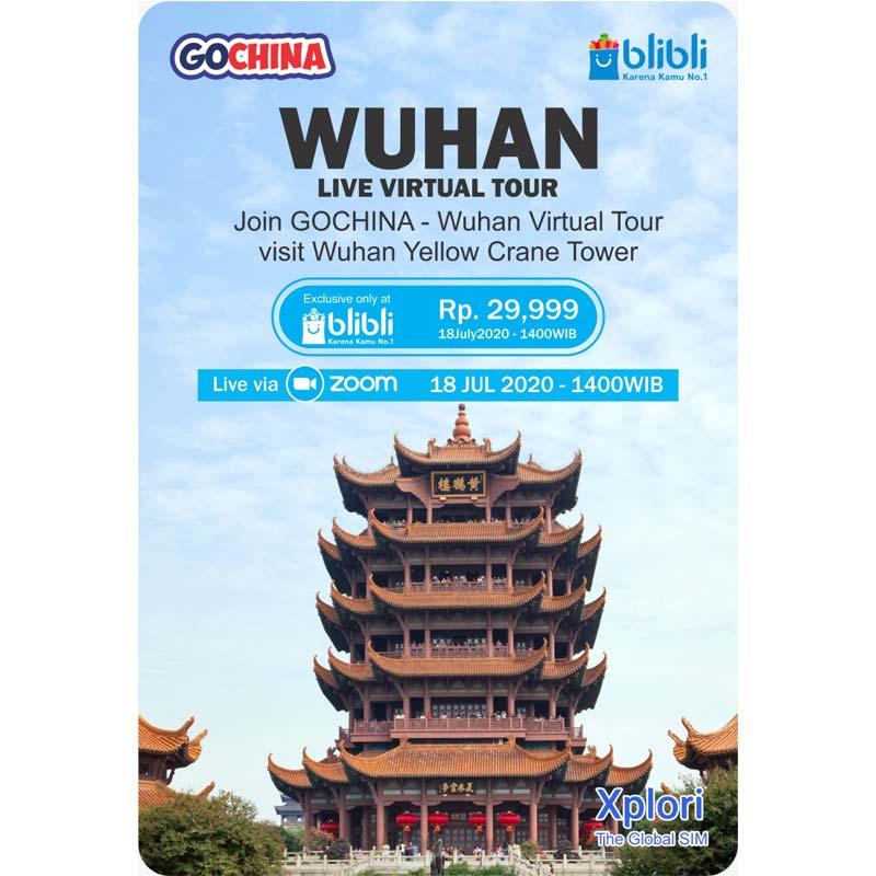 LIVE Shoot Virtual Tour Wuhan