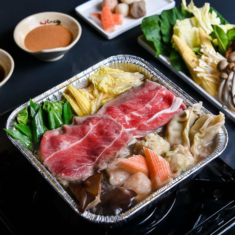 Shaburi Restaurant Premium Shabu2 Set with Vegi Original Kombu Soup