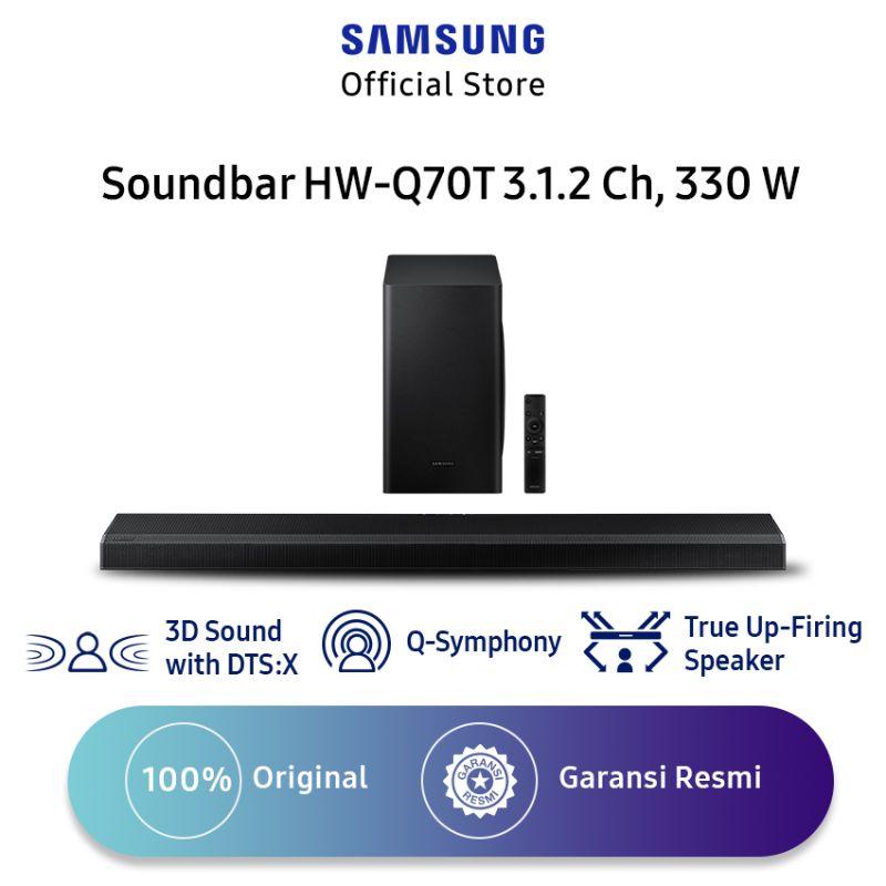 Samsung HW-Q70T Soundbar [3.1.2 Ch/ 330 W]