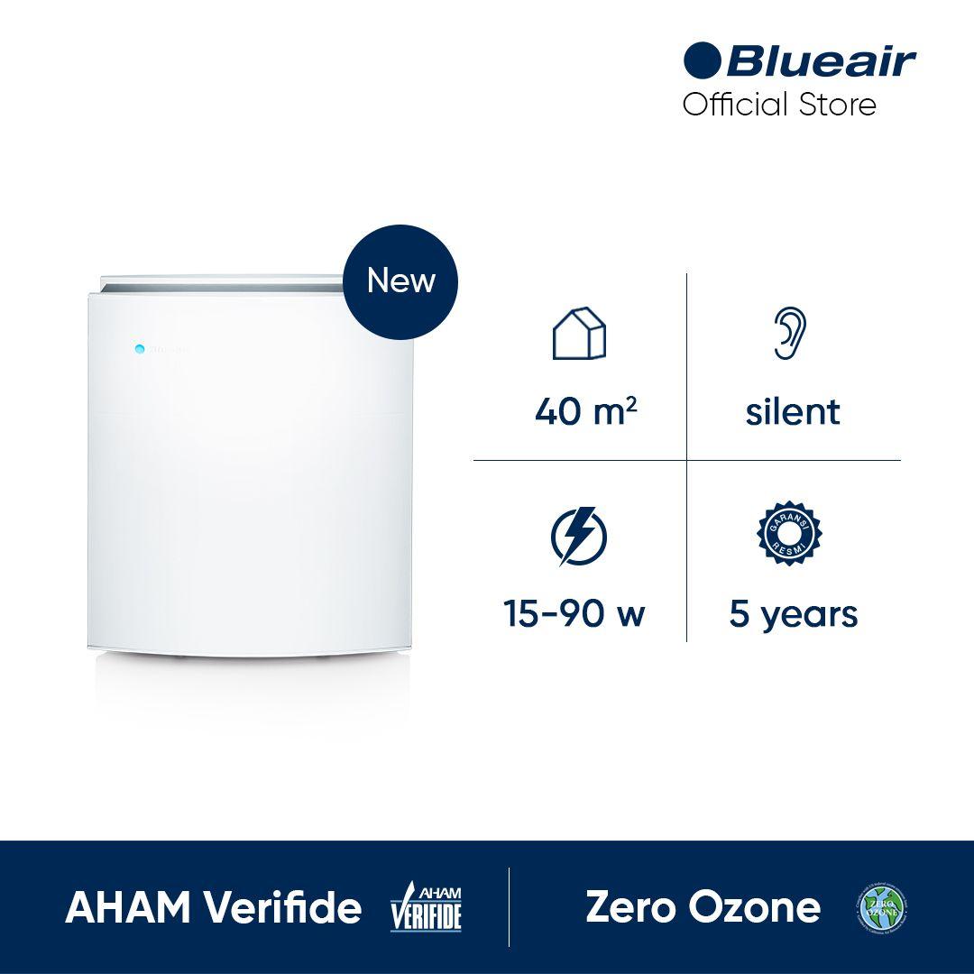 Blueair Classic 490i Dual Protection Air Purifier Pembersih Udara Putih
