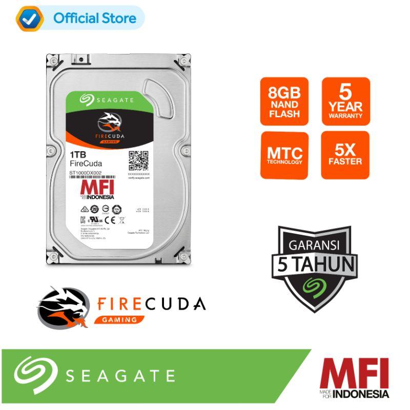 Seagate FireCuda 3 5 Inch Hard Disk Internal 1TB SSHD ST1000DX002