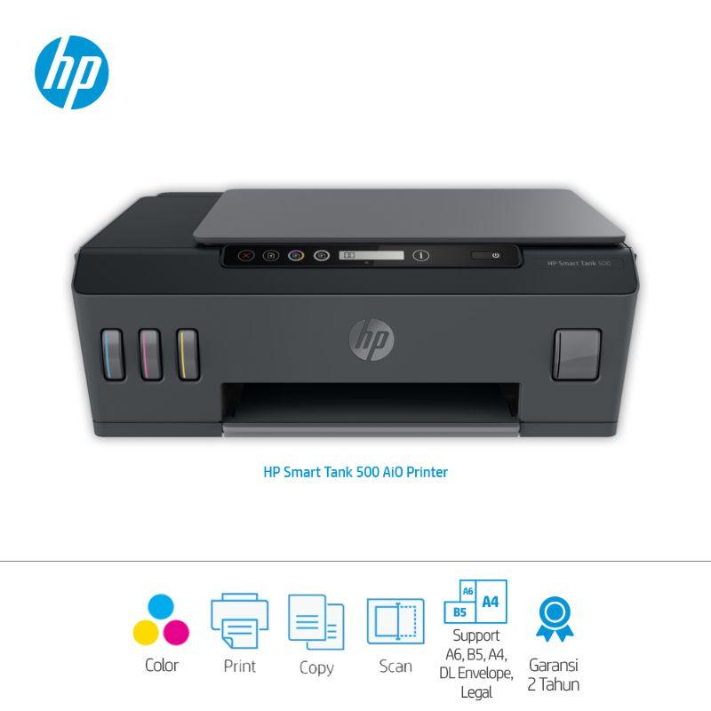 HP 500 Smart Ink Tank All-in-One Printer (Print-Copy- Scan)