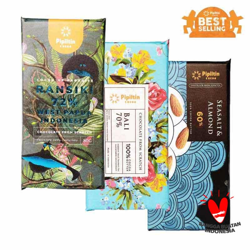 Pipiltin cocoa Best Selling Package Coklat