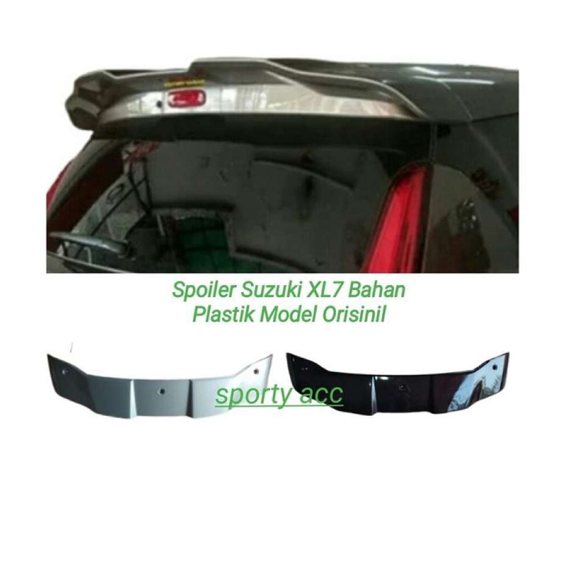 Jual Spoiler Suzuki Xl7 Model Orisinil Bahan Plastik Online Maret 2021 Blibli