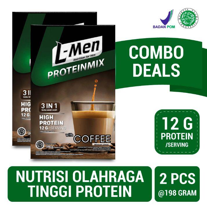 L Men Proteinmix Coffee 6 sachet x 2 pcs