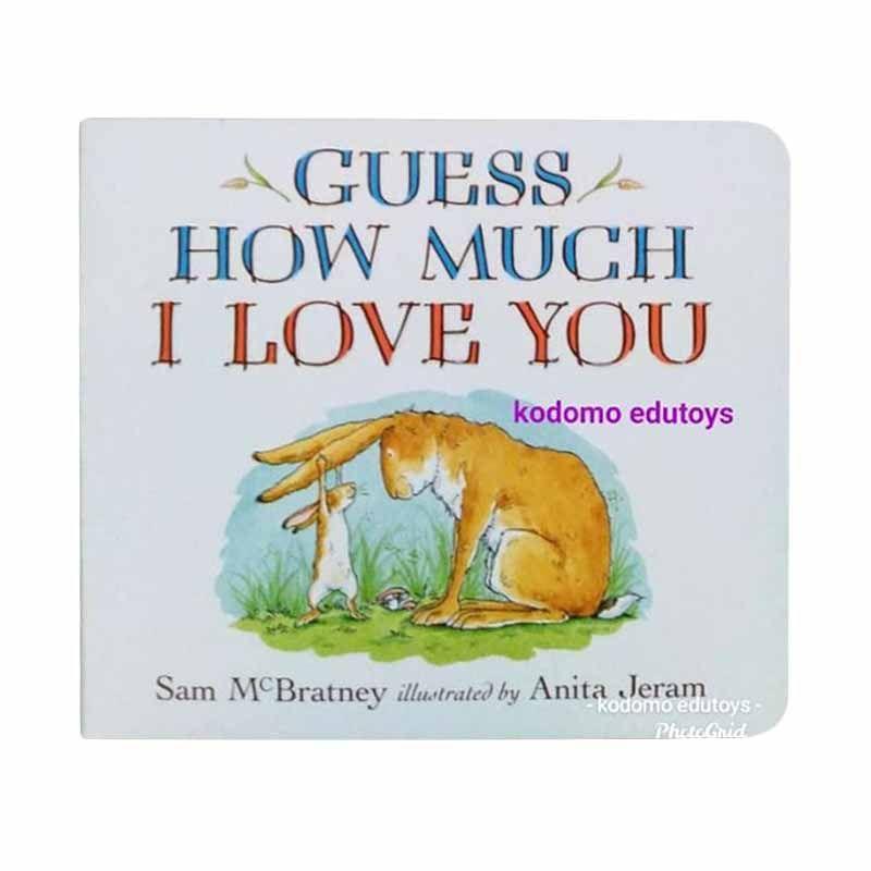 Jual Guess How Much I Love You Board Book By Sam Mcbratney Anita Jeram Online Oktober 2020 Blibli Com