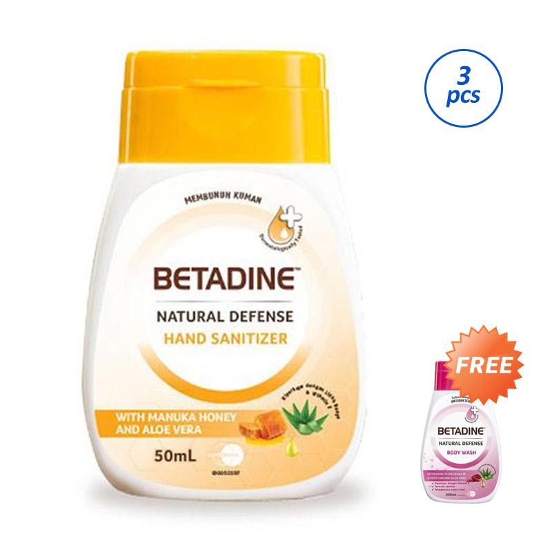 BETADINE Natural Defense Hand Sanitizer