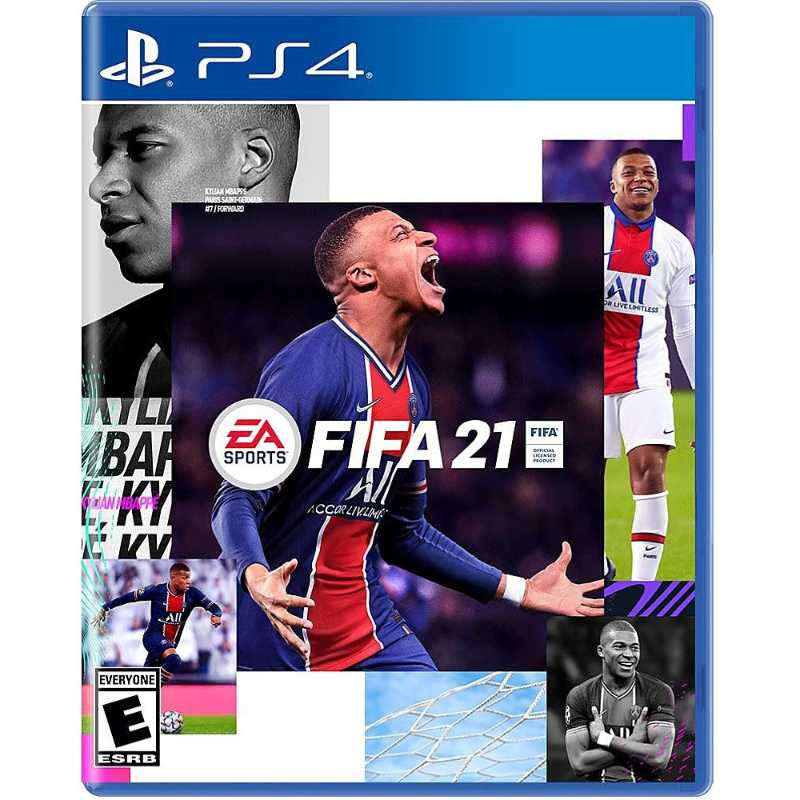 PS4 Fifa 21 Reg3 Asia English Ready Stock
