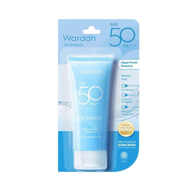 Wardah UV Shield Aqua Fresh Essence SPF 50 30 ml